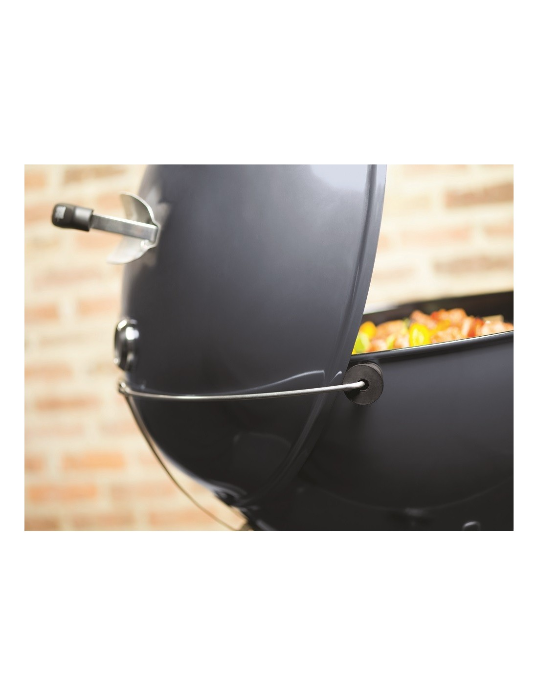 barbecue weber charbon master touch 57cm slate blue gbs. Black Bedroom Furniture Sets. Home Design Ideas