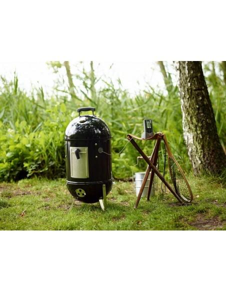 Fumoir Smokey Mountain cooker Ø 47 cm noir émaillé - Weber