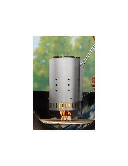 Kit cheminée d'allumage Rapidfire - briquettes et allume-feux - Weber