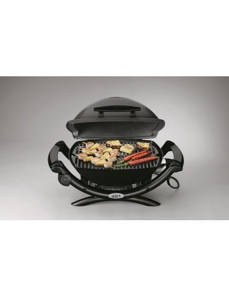 Barbecue électrique portable Q 1400 gris foncé - Weber