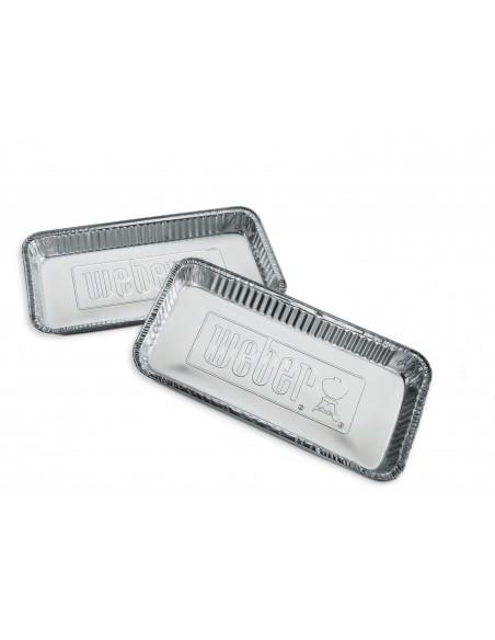 Grandes barquettes Weber en aluminium Modèle XL 5 pièces