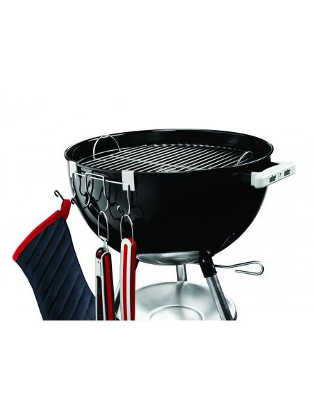 Crochets porte-ustensiles en inox pour barbecue charbon 47 et 57 cm - Weber