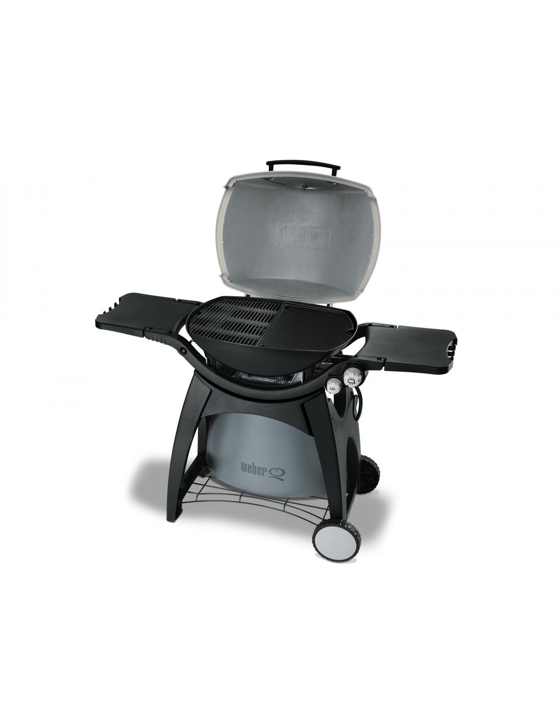 Plancha en fonte pour barbecue weber gaz q s rie 300 et 3000 - Plancha pour barbecue weber ...