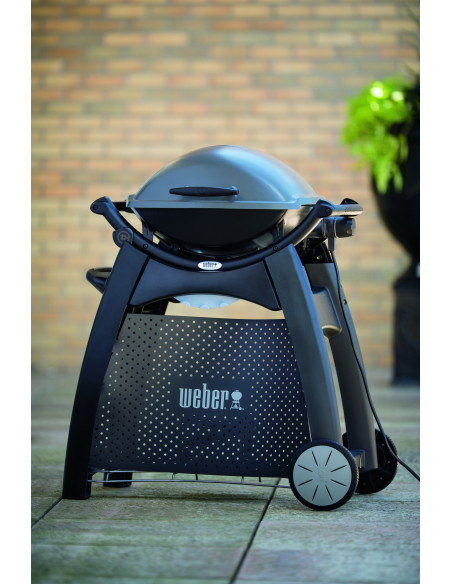 Chariot Deluxe pour barbecue weber gaz Q series 2000