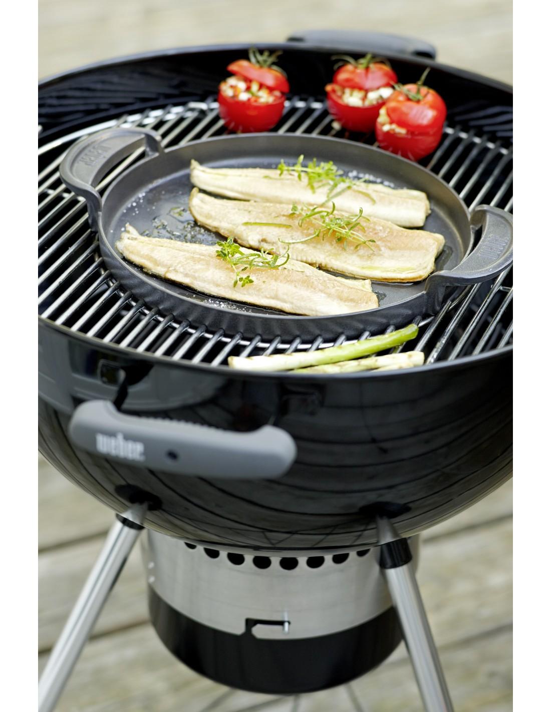 Grille de cuisson gourmet bbq system pour barbecues 57 cm weber - Grille de cuisson pour barbecue ...