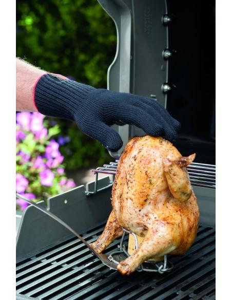 Gants premium spécial barbecue taille L/XL, noir - Weber