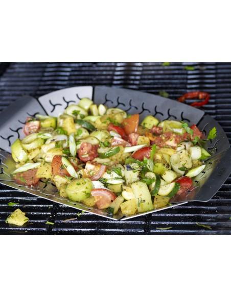 Panier à légumes petit modèle, Acier inoxydable -  Weber