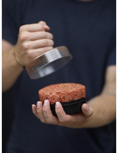 Presse à hamburger - Pour 2 tailles de hamburgers - Weber