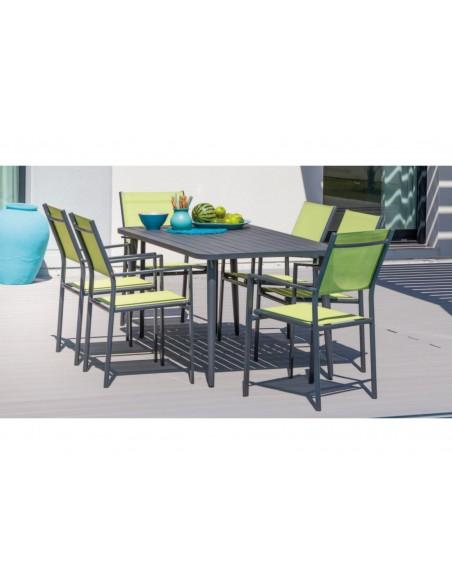 Table Polo 160 cm en aluminium - Proloisirs